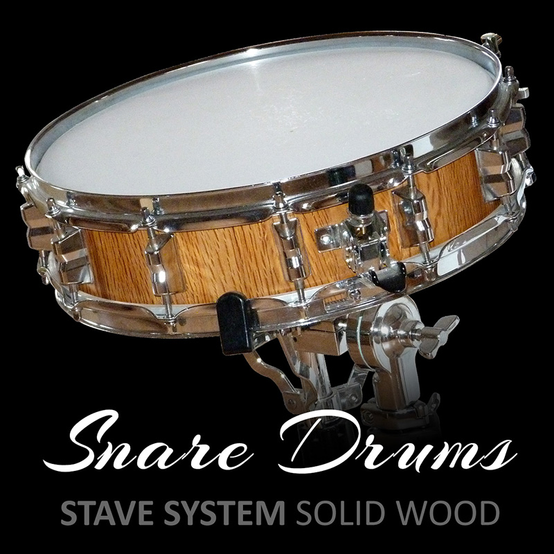 snare drums solid wood