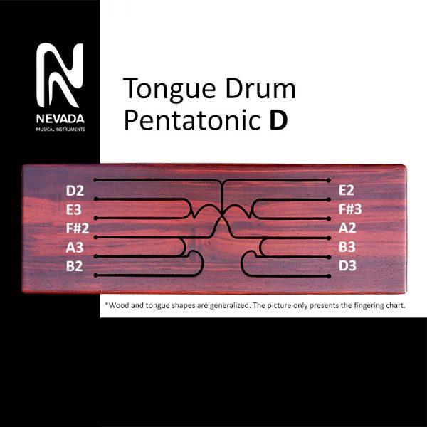 Tongue drum pentatonic D
