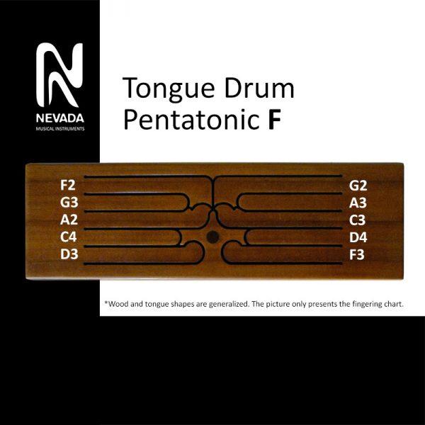 Tongue drum pentatonic F