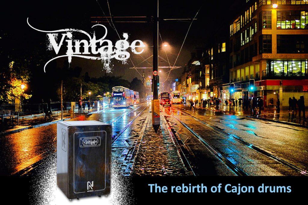 nevada vinbtage- rthe rebirth of cajon drums