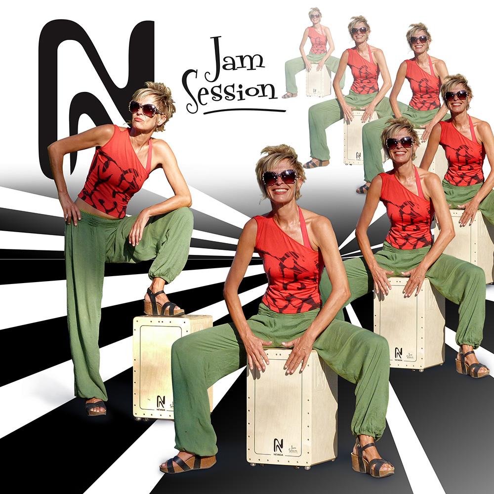 El cajón flamenco Jam Session de Nevada Percusión es genial para workshops