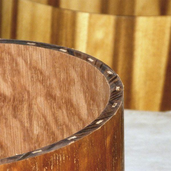 Cascos de madera maciza STAVE para cajas de batería