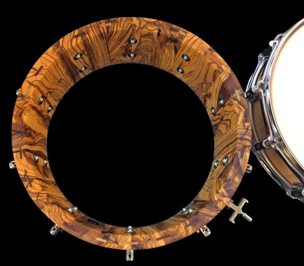 casco de caja macoza de olivo, sistema STAVE