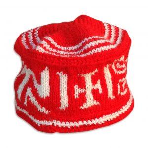 gorro nevada rojo redbox