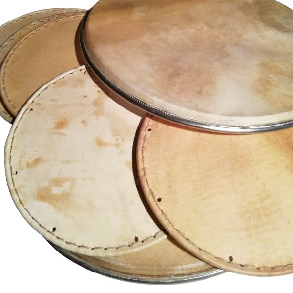 pieles para tambores tradicionales