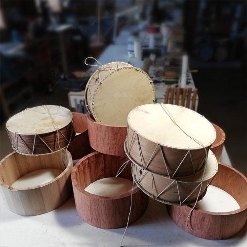 tambores antíguos NEVADA en producción