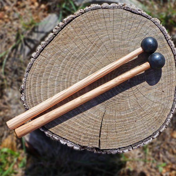 baquetas para el tongue drum