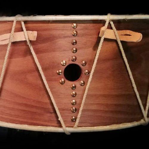tambor antíguo NEVADA detalle