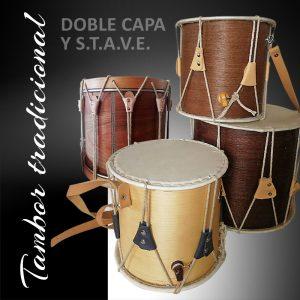 Tambores tradicionales